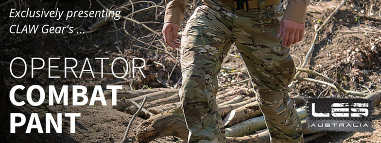Uniform Apparel : CLAW Gear release new Operational Pant