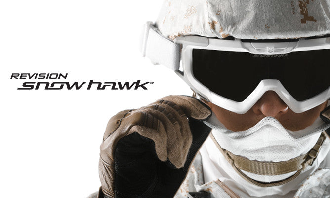 Ballistic Eyewear : Revision Military launch the 'SnowHawk' Cold Weather Goggle System for ECW Operations