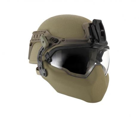 Revision Military Batlskin Viper A3  Head Protection System w/ Interlocking Rails