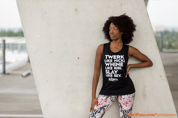 Boss Chick Behavior Muscle Tee