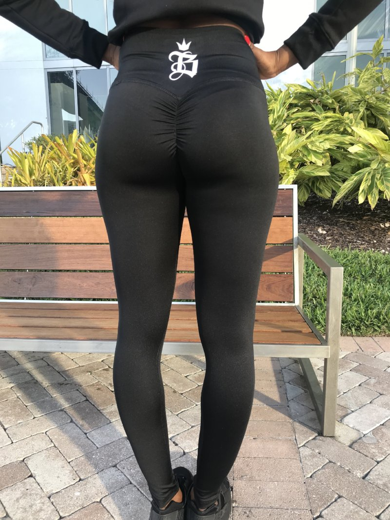 Boss Chick High Waist Scrunch Booty Leggings