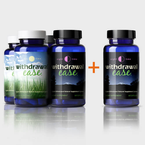 Withdrawal Ease System Bundle - 2 Sets + Free Nighttime