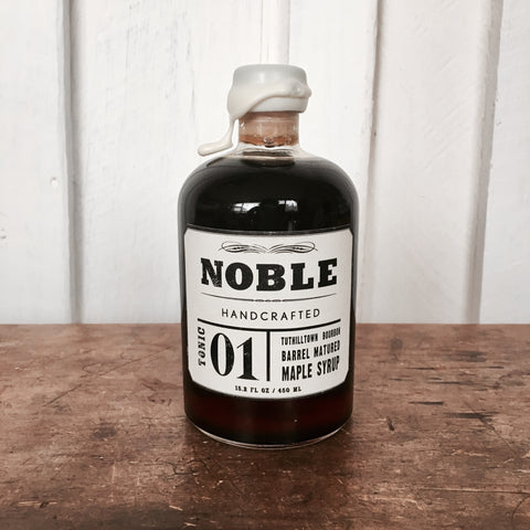 NOBLE HANDCRAFTED MAPLE SYRUP 01