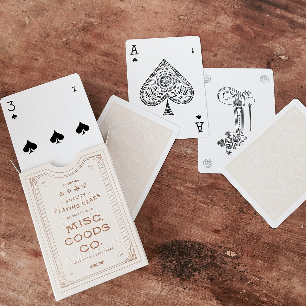 PLAYING CARDS - IVORY