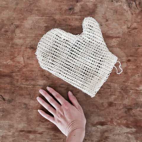 SISAL EXFOLIATING GLOVE