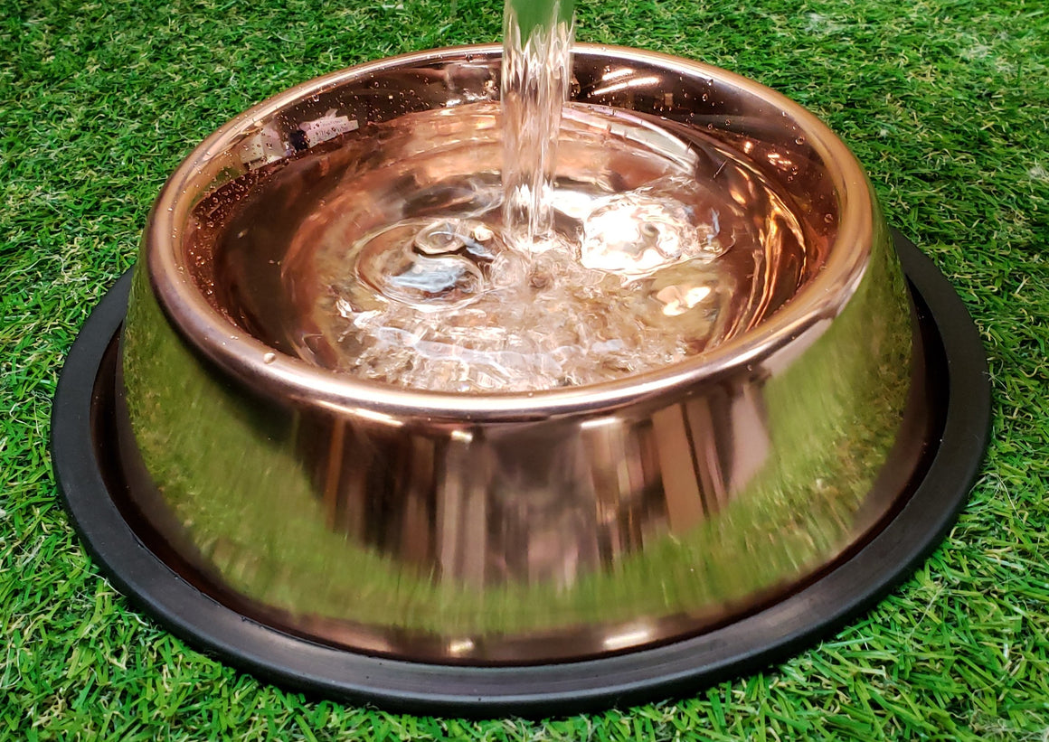 Copper - No Tip Bowls (Water Only)