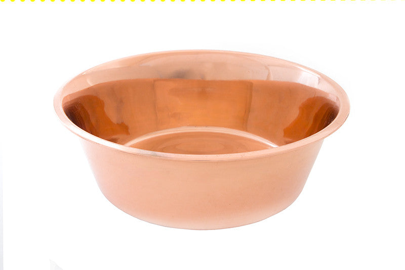 6 oz Normal Copper Water Bowl