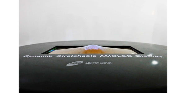 Samsung's extra-stretchable display can survive dents