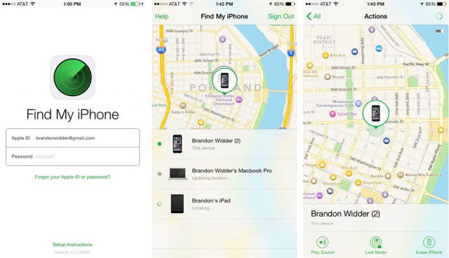 Here's how to locate your iPhone when it goes missing