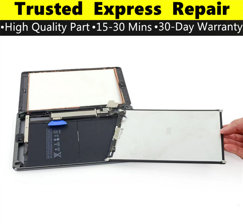 iPad 5 [Screen Glass Replacement][LCD Replacement] Express Repair using Premium Quality Parts