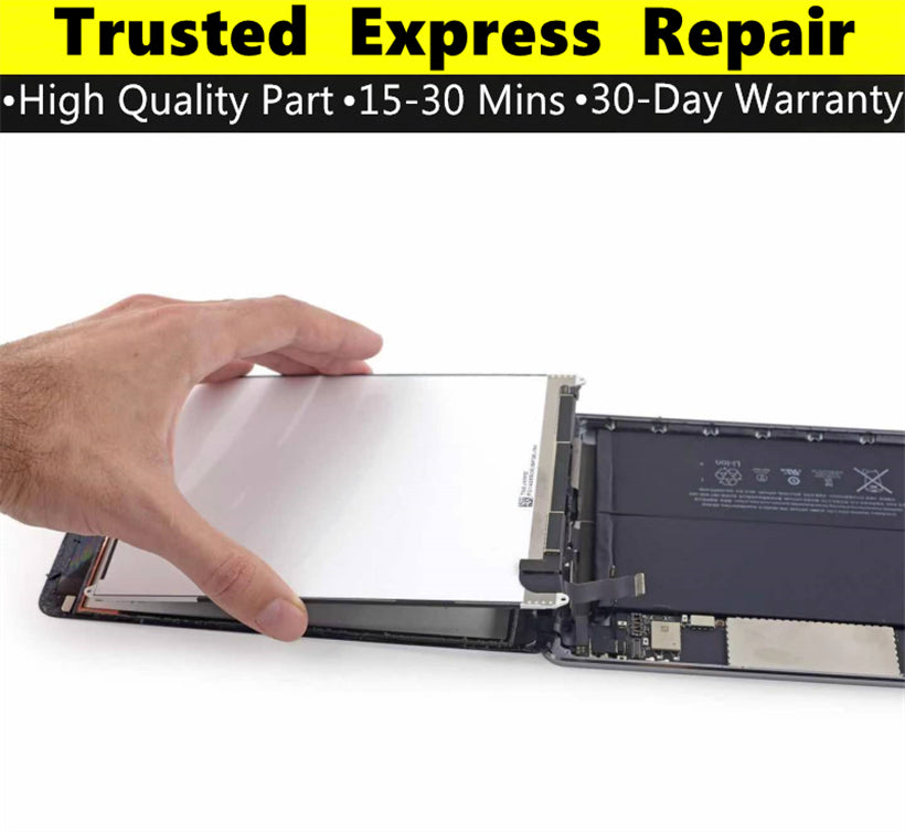 iPad Mini 2 [Screen Glass Replacement][LCD Replacement] Express Repair using Premium Quality Parts