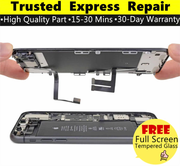 iPhone 11 [Screen Glass Replacement][In-Cell Enhanced TFT LCD Replacement][Hard O-LED LCD Replacement][Original LCD Replacement] Express Repair using Premium Quality Parts