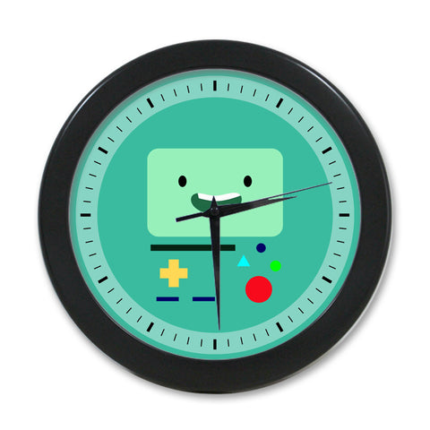 Beemo B-MO Adventure Time Elegant Round Wall Clock