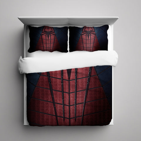 Amazing Spiderman 3 Pieces Bedding Set