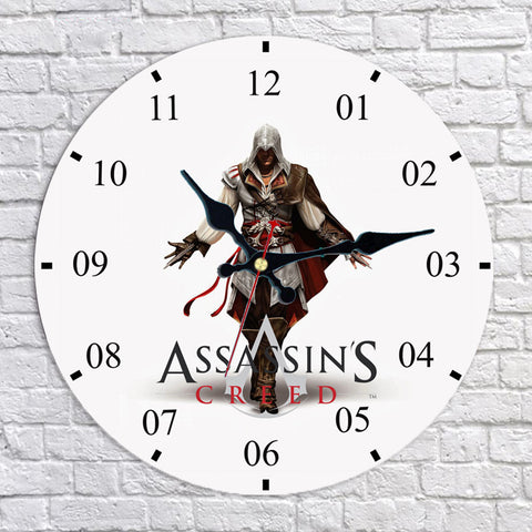 Assassin's Creed II Ezio Auditore Wall Clock