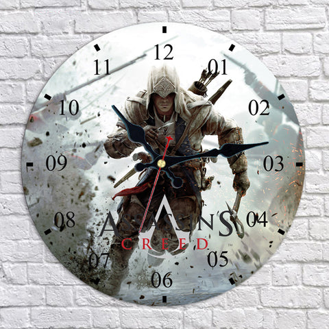 Assassin's Creed III Connor Kenway Wall Clock