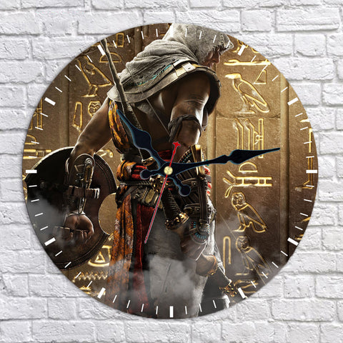 Assassin's Creed Origins Bayek of Siwa Wall Clock