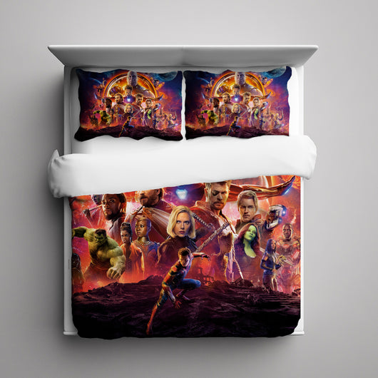 Avengers Infinity War Bedding Set