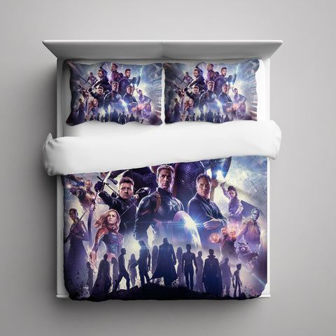 Avengers Endgame 3 Pieces Bedding Set