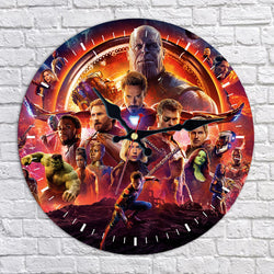 Avengers Infinity War Wall Clock