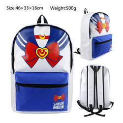 Sailor Moon School Book Backpack Bag