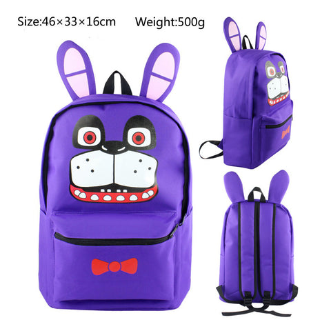 Bonnie Five Nights at Freddy's School Book Backpack Bag
