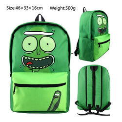 Rick and Morty School Book Backpack Bag