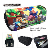 Minecraft Creeper Stationary Pen Pencil Case