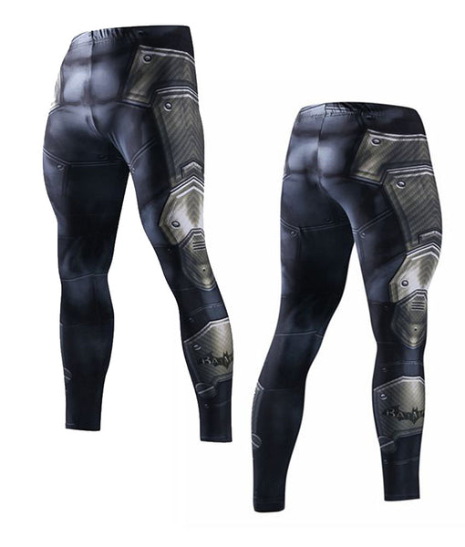 Batman Arkham Suit Long Pants Leggings