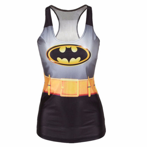 Batman 3D Printed Women's Tank Top