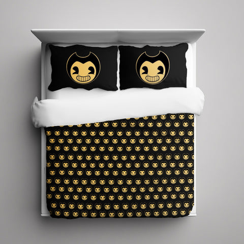 Bendy and the Ink Machine 3 Pieces Bedding Set