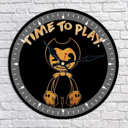 Bendy and the Ink Machine Wall Clock