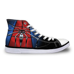 Amazing Spider-man High Top Vulcanized Canvas Shoes