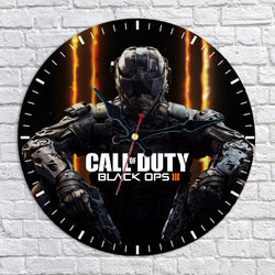 Call of Duty: Black Ops III Wall Clock