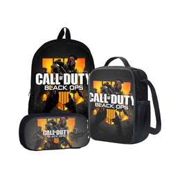 Call of Duty: Black Ops 4 Back To School Set Pencil Case Bag Backpack