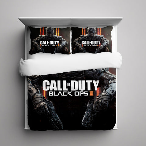 Call Of Duty: Black Ops III 3 Pieces Bedding Set