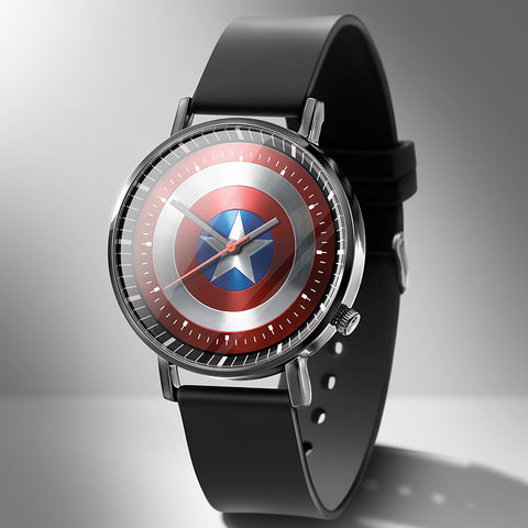 Captain America Shield Avengers Superhero Wrist Watches