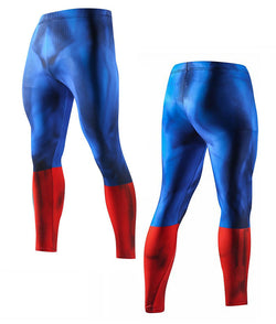 Captain America Long Pants Leggings