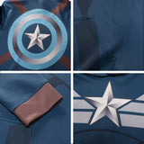 Captain America Winter Soldier Hoodie Sweatshirt