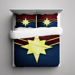 Captain Marvel Carol Danvers Bedding Set