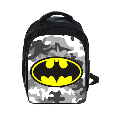 Batman Camouflage Back To School Set Pencil Case Bag Backpack