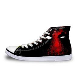 Deadpool High Top Vulcanized Canvas Shoes