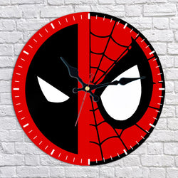 Deadpool Spider-Man Wall Clock
