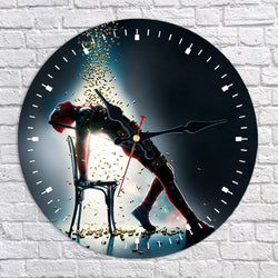 Deadpool 2 Wall Clock