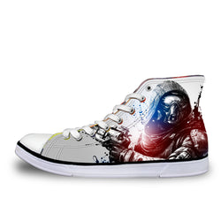 The Hunter Destiny High Top Vulcanized Canvas Shoes