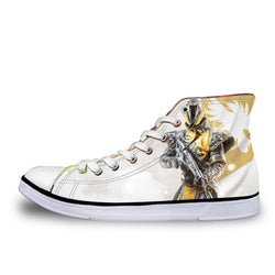 The Warlock Destiny High Top Vulcanized Canvas Shoes