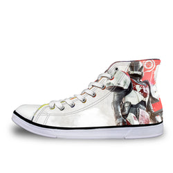 The Titan Destiny High Top Vulcanized Canvas Shoes