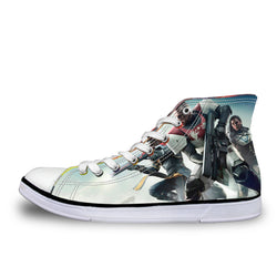 Destiny High Top Vulcanized Canvas Shoes