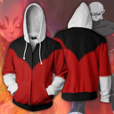 Dragon Ball Super Pride Trooper Jiren Zipper Hoodie Sweatshirt