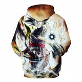 Black Goku Zamasu All Over Hoodie Sweatshirt